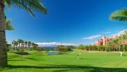 Teren golf 18 gauri, index 72 par Abama Luxury Resort Tenerife